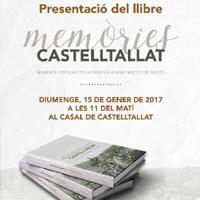 Presentació literària 'Memòries de Castelltallat'