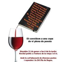 Recital entorn la vinya i el vi