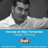 Xerrada 'Design Thinking', amb Marc Fernàndez