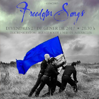 Concert de The Gourmets 'Freedom Songs'