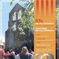 63è Aplec a Sant Pere de Vallhonesta