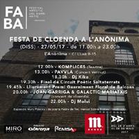 FABA | Festa de cloenda