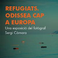 Exposició 'Refugiats. Una odissea cap a Europa', de Sergi Càmara