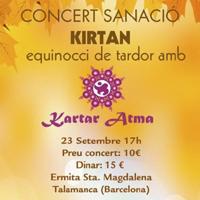 Kirtan a l'Ermita de Santa Magdalena amb Kartar Atma