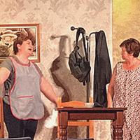 """Teatre """"Dues dones que ballen"""" de la cia. Arc de Fals"""