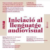 Curs 'Iniciació al llenguatge audiovisual'