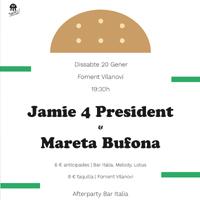 Jaime 4 President & Mareta Bufona