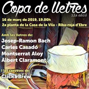 12a Copa de Lletres - Riba-roja d'Ebre 2019