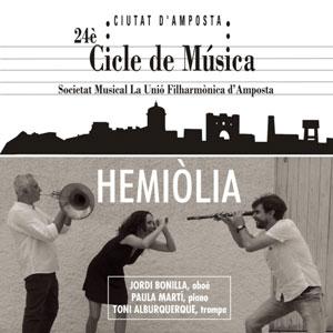 24è Cicle de Música 'Ciutat d'Amposta' - Hemiòlia 2018