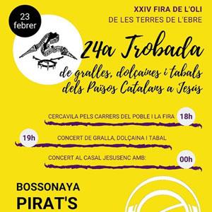 24a Trobada de gralles, dolçaines i tabals dels Països Catalans - Jesús 2019
