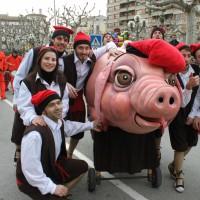 tradició, tres tombs de sant Antoni, Tàrrega, Urgell, Surtdecasa Ponent, gener, Sant Jordi 2017