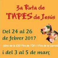 3a Ruta de tapes de Jesús - 2017