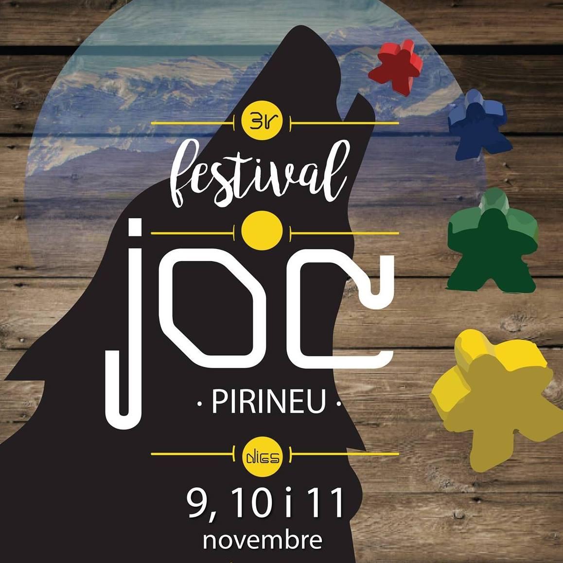 El cartell del festival del joc de la Seu d'Urgell