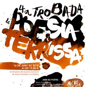 4a Trobada de Poesia i Terrissa - La Galera 2018