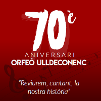 70 aniversari Orfeó Ulldeconenc - 2017