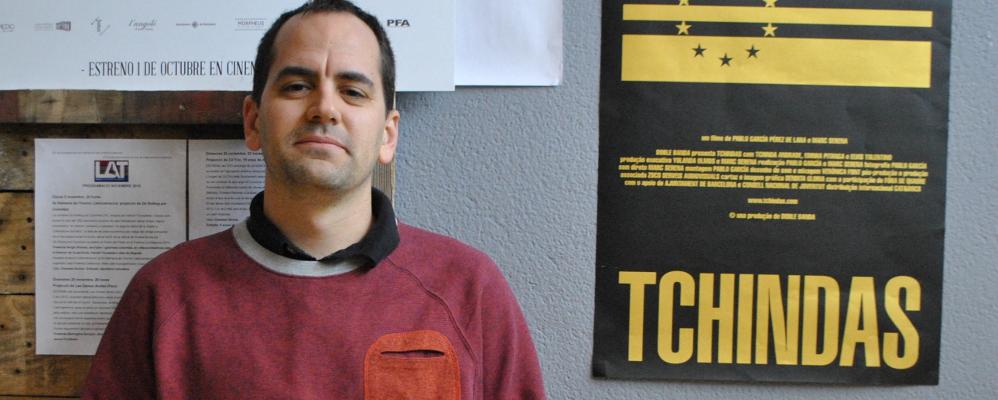 Marc Serena, periodista manresà, codirector de 'Tchindas'