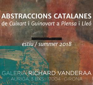 Abstraccions catalanes de Cuixart i Guinart