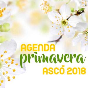 Agenda Primavera - Ascó 2018