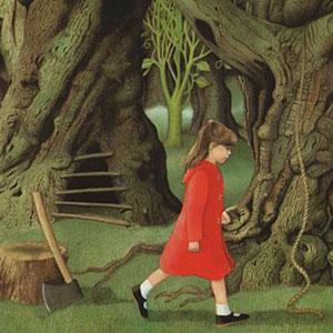 Exposició itinerant 'Àlbums il·lustrats', Il·lustració d'Anthony Browne, 'El túnel'