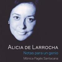 Presentació llibre 'Alicia de Larrocha. Notas para un genio'