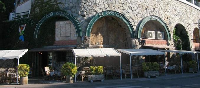 El Corsari, a Sant Feliu de Guíxols