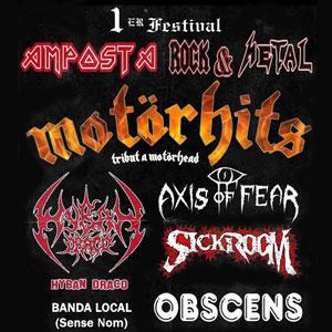 1r Festival Amposta Rock&Metal - 2018