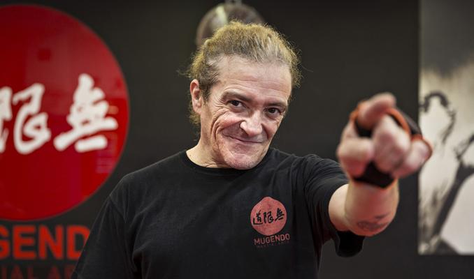 Armando Soria, músic i instructor de Mugendo