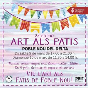 Art als Patis - Poble Nou del Delta 2019