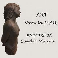 Exposició 'Art vora la mar' de Sandra Molina