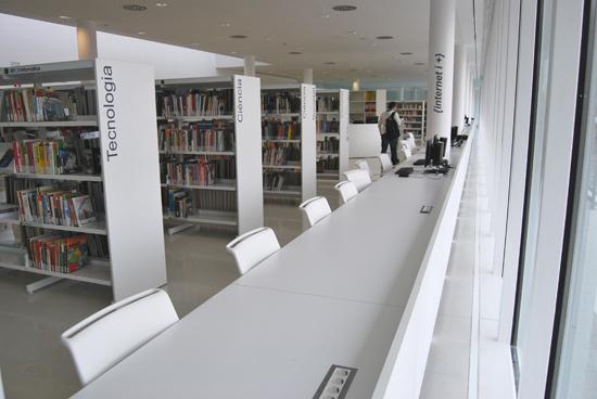 L'usuari hi trobarà l'espai ideal per cercar informació, llegir i estudiar