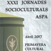 XXXI Jornades socioculturals Aspa, abil, primavera, cultura, Segrià, 2017, Surtdecasa Ponent