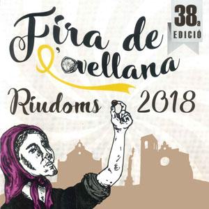 38a Fira de l'avellana, Riudoms, 2018