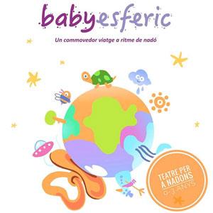 Espectacle 'Baby Esfèric', Teatre per a nadons, Companyia Aboon Teatre