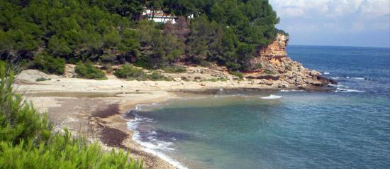 Platja del Torrent del Pi - L'Ametlla de Mar