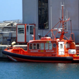 Barca salvament marítim