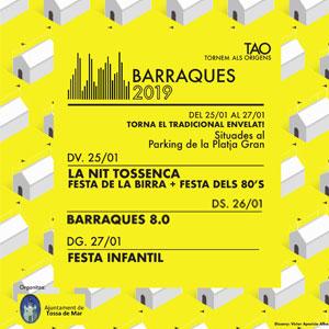 Barraques de Tossa de Mar, 2019