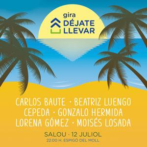 Concert Gira 'Déjate llevar', Cadena Dial, Salou, 2018