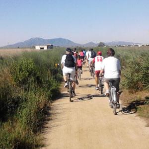 Bicicletada pel Delta de l'Ebre