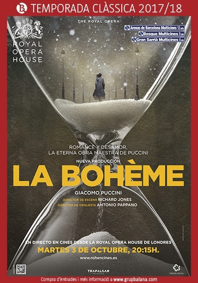 'La Bohème' en directe des de la Royal Opera House de Londres