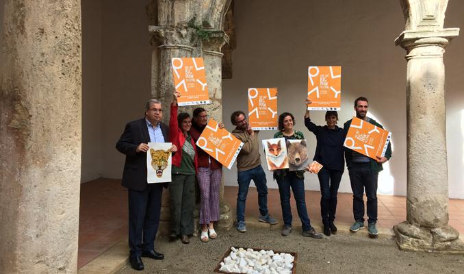Imatge de la roda de premsa de presentació del Big Draw a Vilafranca del Penedès