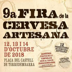 9a Fira de la Cervesa Artesana de Torredembarra, 2018