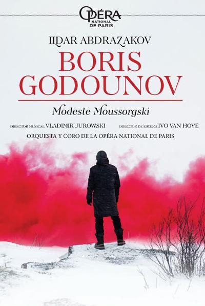 Resultado de imagen de Boris Godounov. Desde la Ópera de París