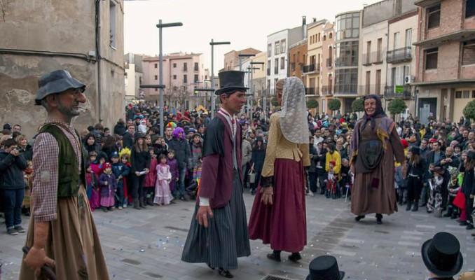 Festa Popular, carnaval, tradició, El Brut i la Bruta, Torà, febrer, 2017, Surtdecasa Ponent