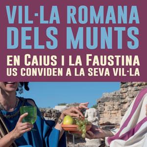 Visita teatralitzada 'La Faustina i en Caius us conviden a la seva vil·la'