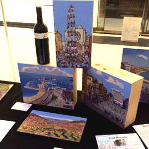 Exposició 'Art, vi i territori'