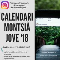 Concurs Instagram - Calendari Montsià Jove'18