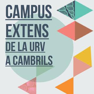 Campus extens de la URV a Cambrils, programació hivern 2019