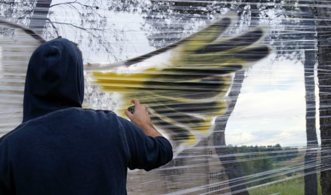 Dude, entrevista, Lleida, Ponent, Surtdecasa Ponent, graffiti, cellograffiti