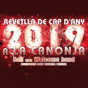 Revetlla de Cap d'Any a la Canonja, 2018-19