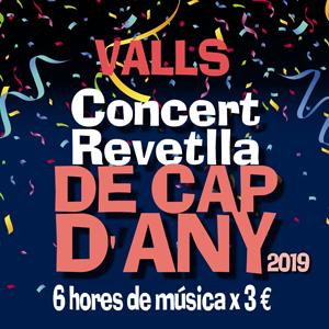 Concert Revetlla de Cap d'Any amb La Glamour Band i 7Drock a Valls
